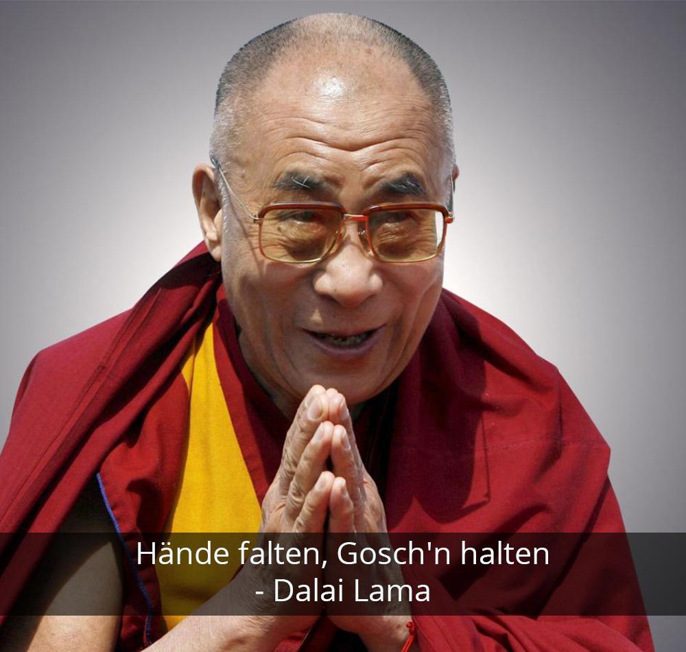 Zitat der Woche - Dalai Lama