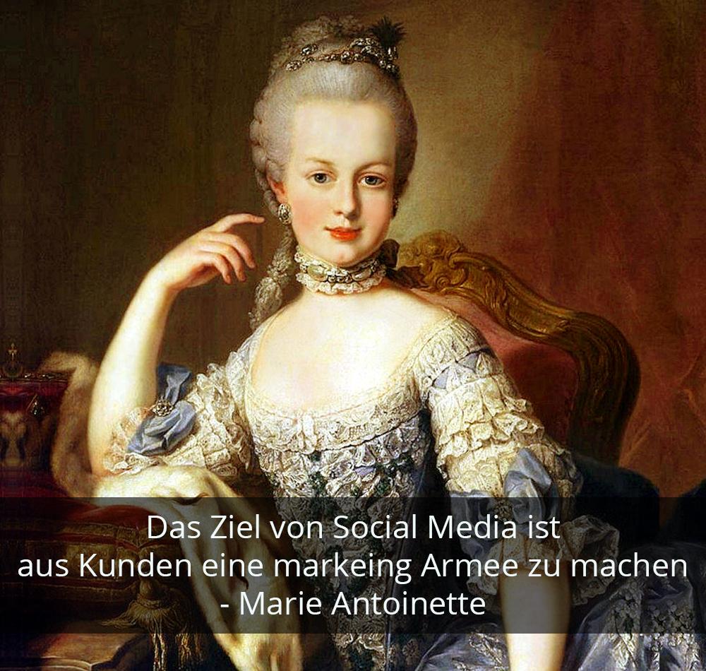 Zitat der Woche - Marie Antoinette