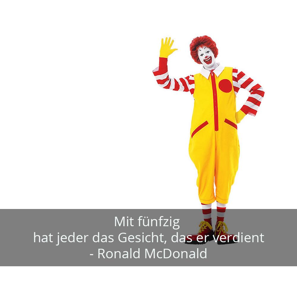 Zitat der Woche - Ronald McDonald