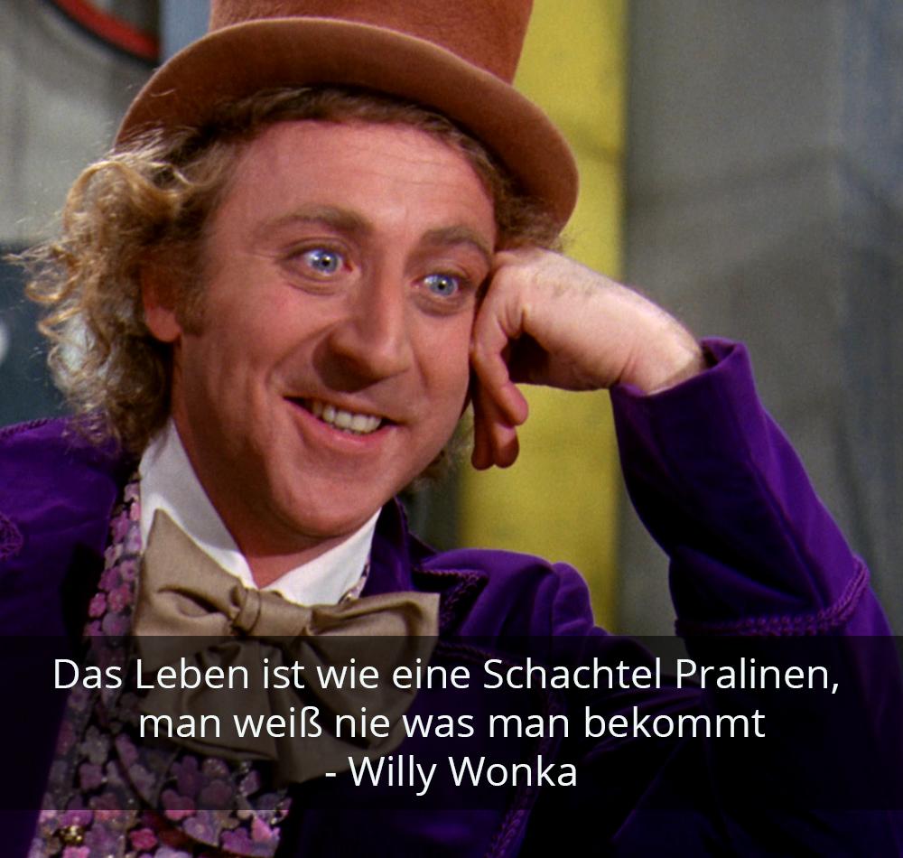 Zitat der Woche - Willy Wonka
