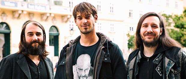 Das Produktionsteam: Alex Lausch, Christoph Hahn, Zebo Adam. Foto: Niko Ostermann